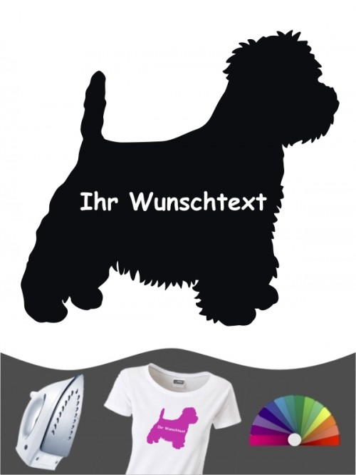 West Highland Terrier 3 - Bügelbild