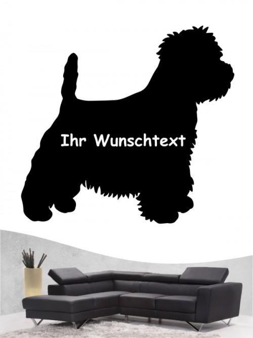West Highland Terrier 3 - Wandtattoo