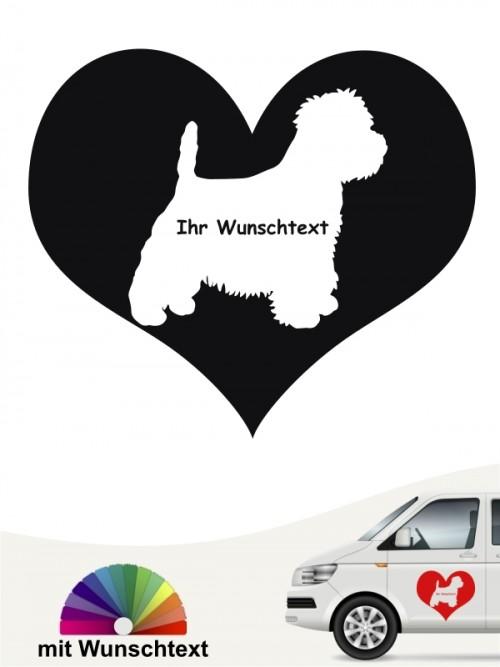 Hunde-Autoaufkleber West Highland Terrier 4 von Anfalas.de