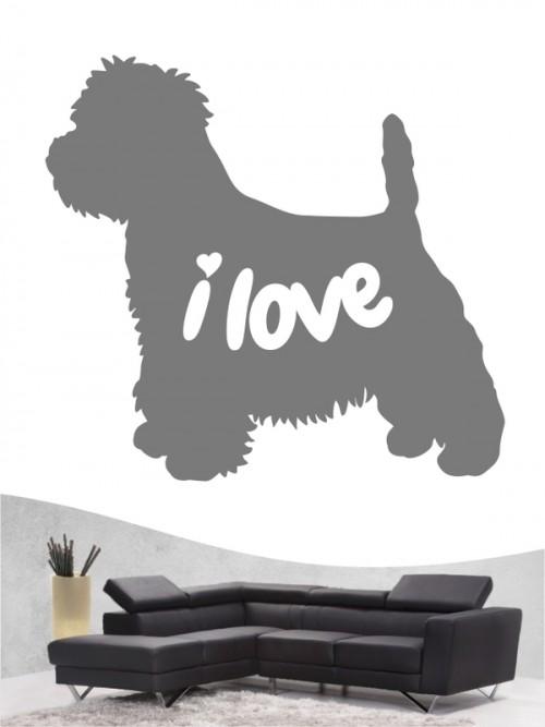 West Highland Terrier 43 - Wandtattoo