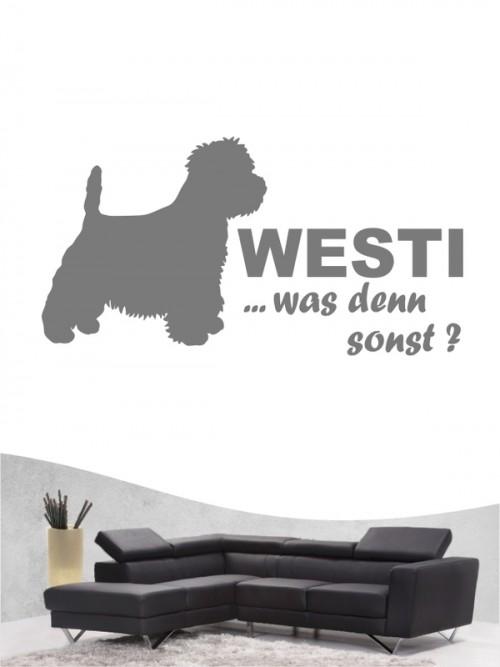 West Highland Terrier 7 - Wandtattoo