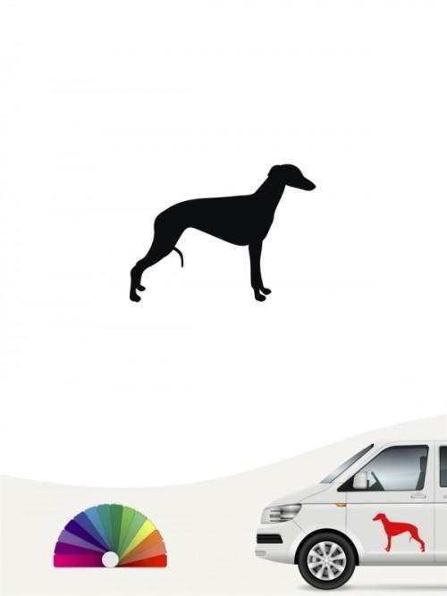 Hunde-Autoaufkleber Whippet 1 Mini von Anfalas.de