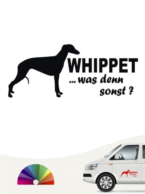 Whippet was denn sonst Autosticker anfalas.de