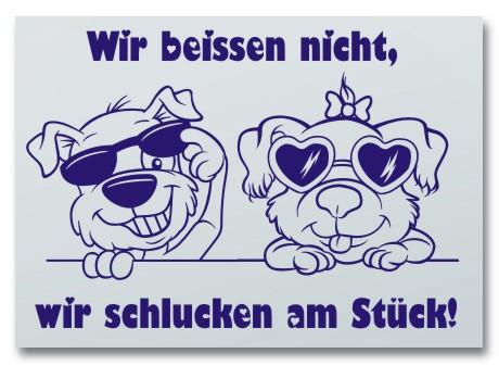 Hundeschilder selbst gestalten Anfalas.de