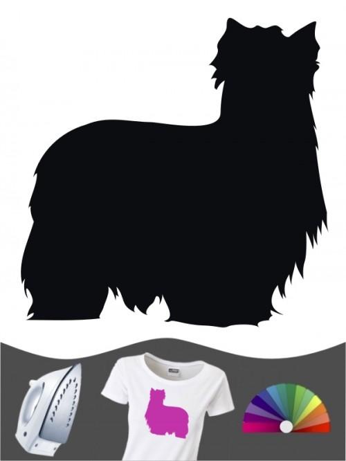 Yorkshire Terrier 1 - Bügelbild