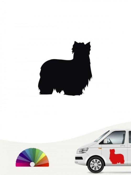 Hunde-Autoaufkleber Yorkshire Terrier 1 Mini von Anfalas.de