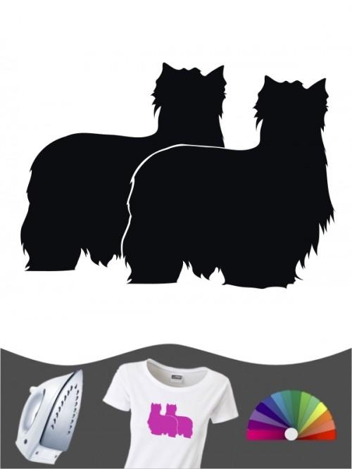 Yorkshire Terrier 2 Bügelbild