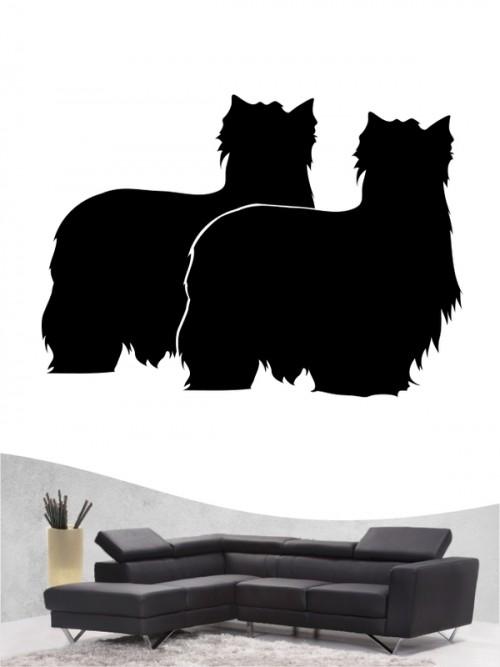 Yorkshire Terrier 2 - Wandtattoo