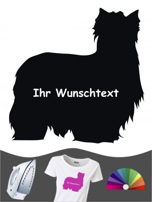 Yorkshire Terrier 3 Bügelbild