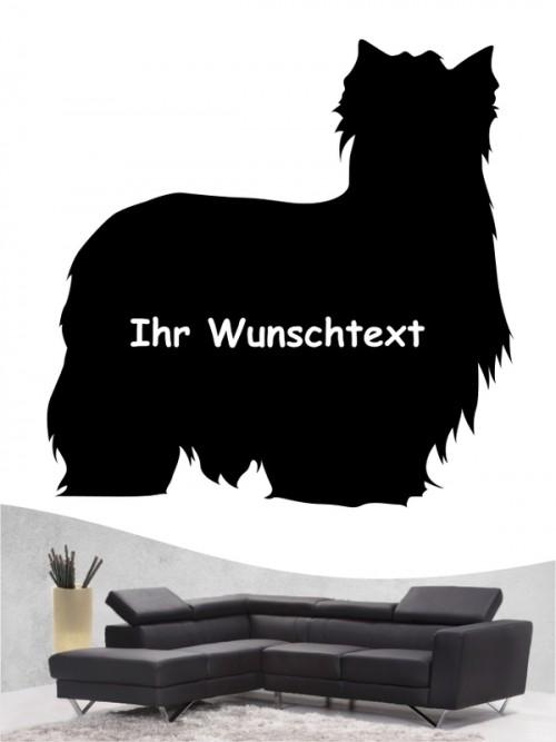 Yorkshire Terrier 3 - Wandtattoo