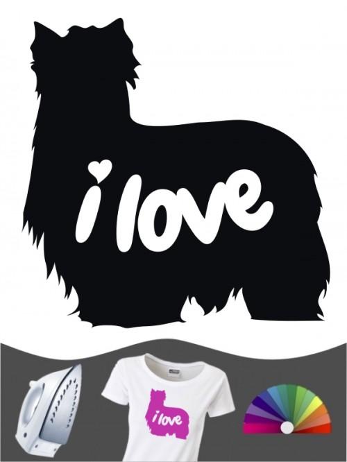 Yorkshire Terrier 43 - Bügelbild