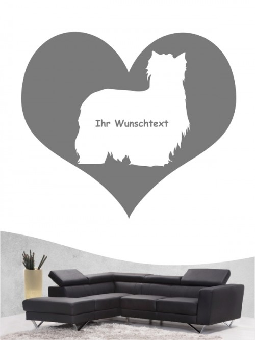 Yorkshire Terrier 4 - Wandtattoo