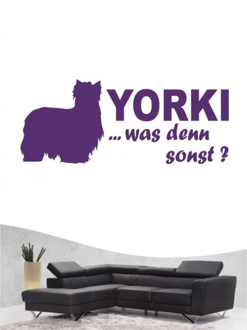 Yorkshire Terrier 7 - Wandtattoo