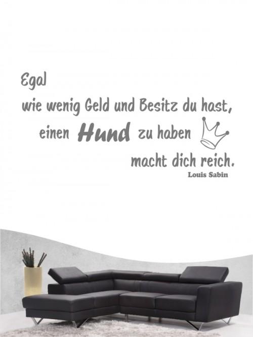 Hunde-Zitat 1 Wandtattoo von Anfalas.de