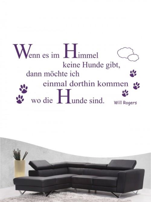 Hunde-Zitat 7 Wandtattoo von Anfalas.de