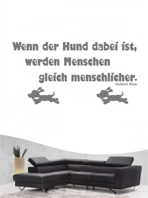 Hunde-Zitat 8 Wandtattoo von Anfalas.de