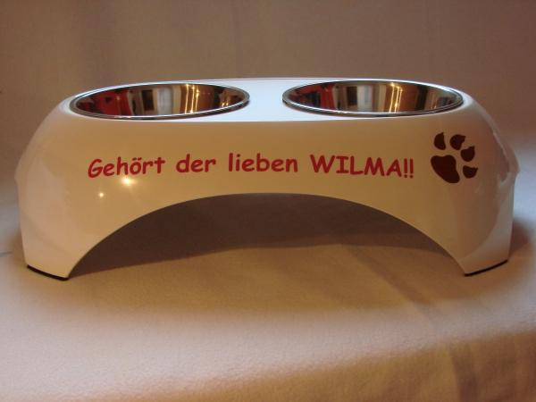Hundebar groß mit Namen von Anfalas.de