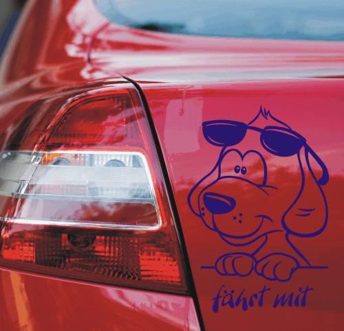 Hundeaufkleber von Anfalas.de