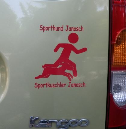 Sporthund Aufkleber Anfalas.de
