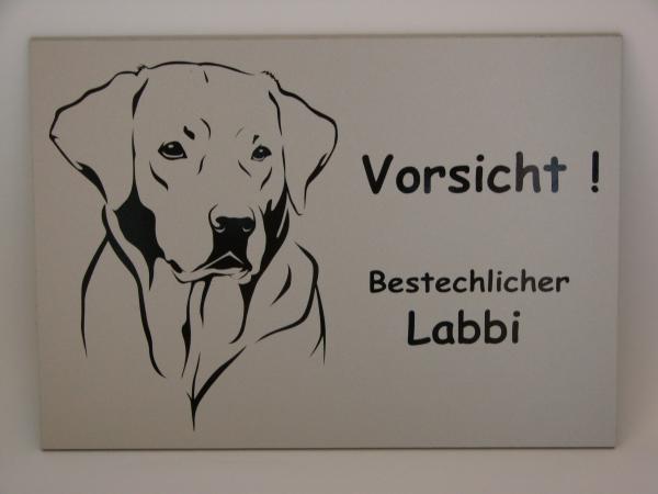 Hundschild Labrador Anfalas.de