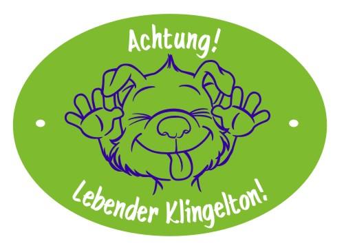 Hundeschild Klingelton Anfalas.de