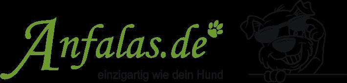 Anfalas.de - Hundeaufkleber, Schilder, Fußmatten, Näpfe und mehr für Hundefreunde